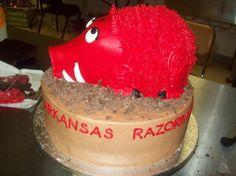 Razorback Cake