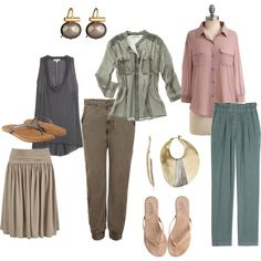 Light Summer (left), Soft Summer (Right) - Colour Analysis- Light Summer, SSu Chillin', created by puddentane on Polyvore