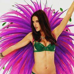 Angel Alessandra at her fittings #angel #alessandraambrosio #VictoriasSecret #victoriassecretangel #vsfs #vsfs2015 #Vsfs2015News #bts #vsfittings #vsfashionshow #VSFantasyBra #vswings #wings #angel #fireworks