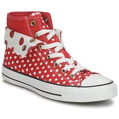 Red polka dot converse.  I want these so bad!  I want to wear them under my wedding dress!