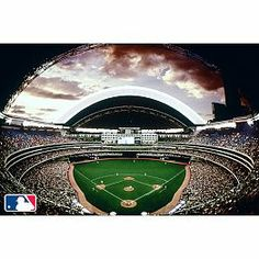 Superb MLB Stadium Wall Mural Still Available Only By Part 24