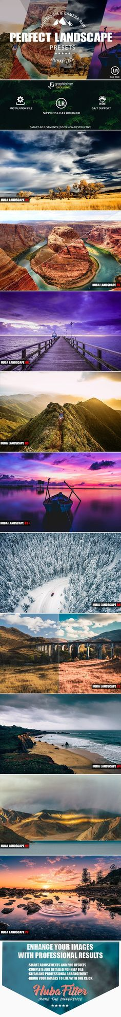 30 Perfect Landscape Lightroom & Camera RAW Presets on Behance