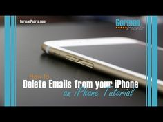 How to Delete Emails on the iPhone - German Pearls