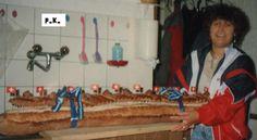 Keiner zu klein,köstlich zu sein !: Apéro - Brot . Geburtstags - Torte : Dekor aus Sc...