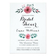 #bridal #shower #invitations - #Floral Design Bridal Shower Invitation