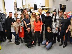 INA.T.: Karolína Kurková v ateliéru UMPRUM Artsy, Dresses, Design, Fashion, Atelier, Vestidos, Moda, Fashion Styles