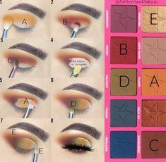 Jeffree Star Eyeshadow, Eyeshadow Makeup, Eyeshadow Ideas, Creative Eye Makeup, Colorful Eye Makeup, Jeffree Star Androgyny, Androgyny Palette, Eye Makeup Designs, Eye Makeup Steps