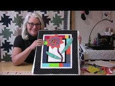 A New Quick Way to Applique, de draad is met lijm, speciale klossen die je kan kopen - YouTube