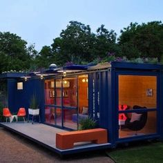 Love this container home!