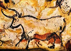 The lifelike images found at sites such as the famous Lascaux Cave in south-west France are said to demonstrate an ability to depict animal movement superior to that seen today.  Stone Age man was better at drawing moving animals than artists today.  Cave art has fewer errors than modern works.