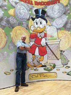 Don Rosa Don Rosa, Dagobert Duck, Uncle Scrooge, Disney Duck, Scrooge Mcduck, Donald Duck, Disney Characters, Fictional Characters, Comics