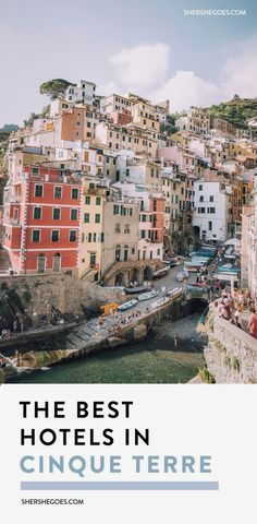 an italy travel guide for the best hotels, airbnbs and local rooms in cinque terre. riomaggiore, monterosso, vernazza, corneglia or manarola - which italian village should you stay in? #italy, italy things to do, cinque terre things to do, cinque terre neighborhood guide, cinque terre travel guide  #ItalyTravel