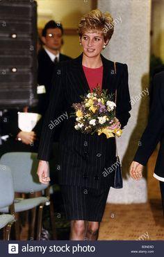 Princess Diana meets Kiranjit Alluwalia battered wife who was jailed for killing her husband October 1993