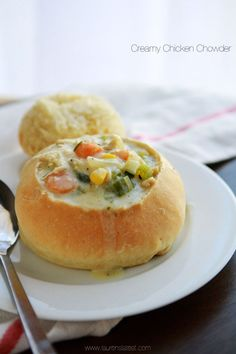 Creamy Chicken Chowder - Laurens Latest