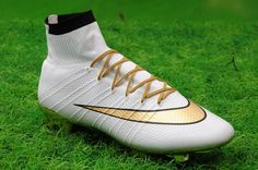meet 8a9f9 ec278  89 NOW- Nike Mercurial Superfly FG Gold Studs cleats