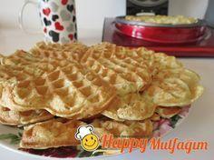 Günün Tarifi: Orijinal Waffle Yapımı! >> http://www.happycenter.com.tr/yemek-tarifleri/orijinal-waffle-tarifi/