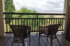 Highland View Self Catering Cottage - Clarens Accommodation. Double Bunk Beds, Queen Room, Self Catering Cottages, Free State, Outdoor Furniture Sets, Outdoor Decor, Open Plan Kitchen, Queen Size Bedding, Two Bedroom