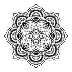 A Mandala. | All Art is Quite Useless | Pinterest