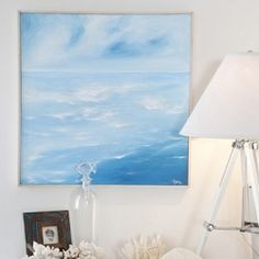 Learn how to make this beautiful sea side artwork.