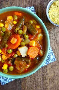Wonderful Vegetable Soup Recipe. | Posted By: DebbieNet.com |