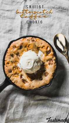 Warm and ooey gooey skillet cookies for the ultimate single-serve comfort.