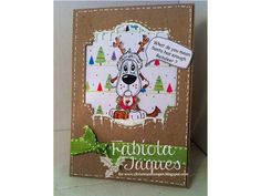 Christmas Stampin All Year Long Challenge Challenge Stampin Up Christmas, Christmas Cards To Make, Cake Pictures, Reindeer, Santa, Challenges, Creative, Projects, How To Make