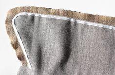 Veronica Coat Tutorials: Taping & Interfacing the Collar - Sewing History