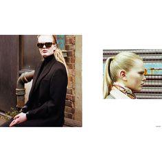 @saturdaystylist looking amazing in @kirkoriginalsuk #style #frame #minimal #fashion #beauty #blonde #girl #kirkoriginals #British #fashion #brand #handcrafted #france #italy