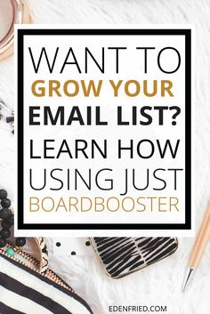 If you're looking to grow your email list, don't forget to take advantage of BoardBooster. One BoardBooster feature helped skyrocket my list this month. Learn more >>