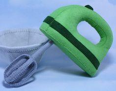 Mezclador de mano paquete de moldes costura por ThePixiePalace