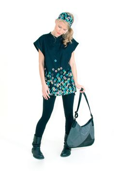 Skunkfunk USA: SAGARDUIA-04 Fall Winter 13 Women's SHIRT, Fabric Content: 98% cotton + 2% elastane, Sustainable Fashion, Eco-Friendly Clothi...