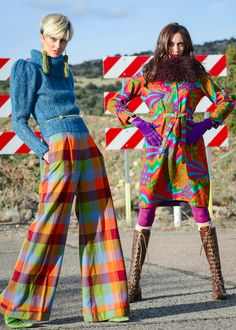 Java Magazine Fashion editorial,Feb 2016,styled by Mitch Phillips,clothes from Rare Scarf Vintage store, Phoenix Az, photo by Zach Radel
