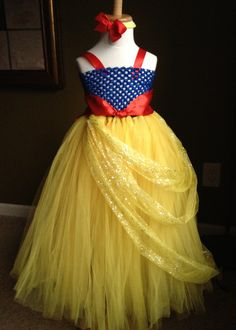 Snow White Tutu Dress Birthday Photograph Baby Shower Party 01T2T3T4T5T6Y | eBay