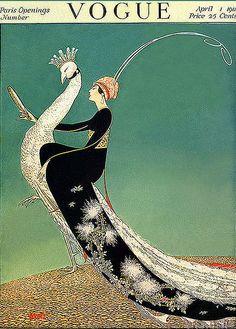 Vintage Vogue Cover :D