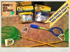Mommy's Idea Notebook: Wild Kratts Party Dollar Tree Finds! Part 2