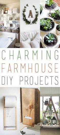Charming Farmhouse DIY Projects – The Cottage Market – Diy Furniture Ideas Cheap Home Decor, Diy Home Decor, Gym Decor, Home Office Decor, Entryway Decor, Rustic Decor, Farmhouse Decor, Farmhouse Style, Modern Farmhouse