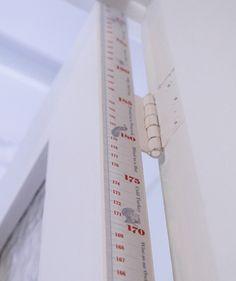 foolhouse door jam Doorjam Childrens Height Chart   a measure of discretion