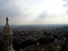 View from Le Sacre Coeur