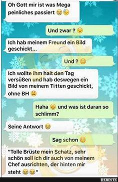 Oh Gott mir ist was Mega peinliches passiert. Really Funny, Funny Cute, Funny Memes, Jokes, Cute Texts, Good Humor, Sarcastic Humor, Online Dating, Picture Quotes