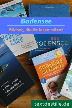 Ich stelle euch hier fünf lesenswerte Bücher über den Bodensee vor. Bodensee für Kinder, über Geschichte, Burgen und Schlösser und über ungewöhnliche Orte am Bodensee. #textdestille Winter, Books, Book Log, Literary Quotes, Great Books, Kids Fun, Winter Time, Libros, Book
