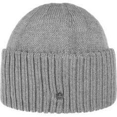 Gant Unisex Strickmütze Mütze Winter Indigo Knit Beanie Wintermütze Baumwolle