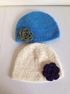 Little girl hat by Crochetinsanity on Etsy