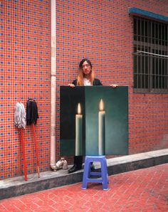 """Between 2005 and Michael Wolf photographed painters in Shenzhen, China, who reproduced famous works of art. Each portrait consisted of a """"copy artist"""". Wolf Photography, Urban Photography, Artistic Photography, Street Photography, Robert Doisneau, Hong Kong, Michael Wolf, Gerhard Richter, Contemporary Photography"""