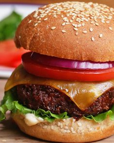 The Best Ever Vegan Burger Recipe by Tasty