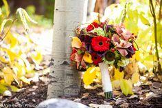 Fall wedding in Vail #aspens #mountainwedding #vanburenphotography #lodgeatvail