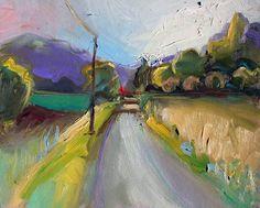 Richard Claremont #Art - Lourmarin, Provence - #Landscape #Oil #Paintings for Sale