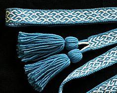 Tablet Woven Slavic Belt
