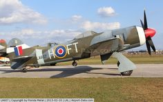 LA607, 1943 Hawker Tempest II C/N Not known LA607, Hawker Tempest II