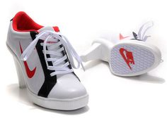 367b60ff8a3ae Nike Outlet White Black Red Dunk Swoosh Heels Low Online Low Heels