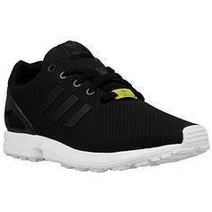 Adidas - ZX Flux K - Color: Black-White - Size: 3.0 - http://buyonlinemakeup.com/adidas/3-d-m-us-adidas-youths-zx-flux-black-white-mesh-5-5-us